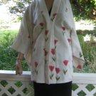 Darling Kimono Style Tulip print Glitter Jacket Blazer S
