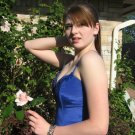 SALE Sale Bengaline Moire Blue Evening Prom Gown Dress NWT small
