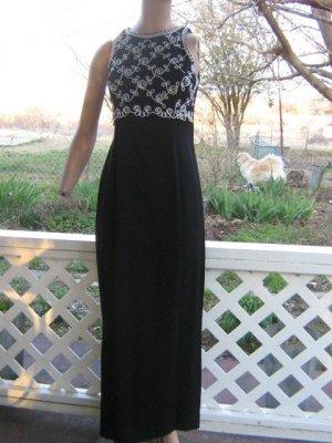 Scott McClintock Soutach prom Dress Evening Gown S