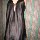 Strappy Satin Peek front vintage Teddi Chemise Babydoll S M Nightgown