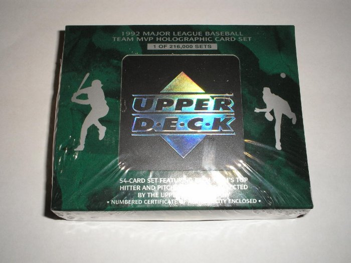 1992 Upper Deck Hologram Set