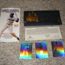 1992 Lime Rock Griffey Baseball Hologram Set