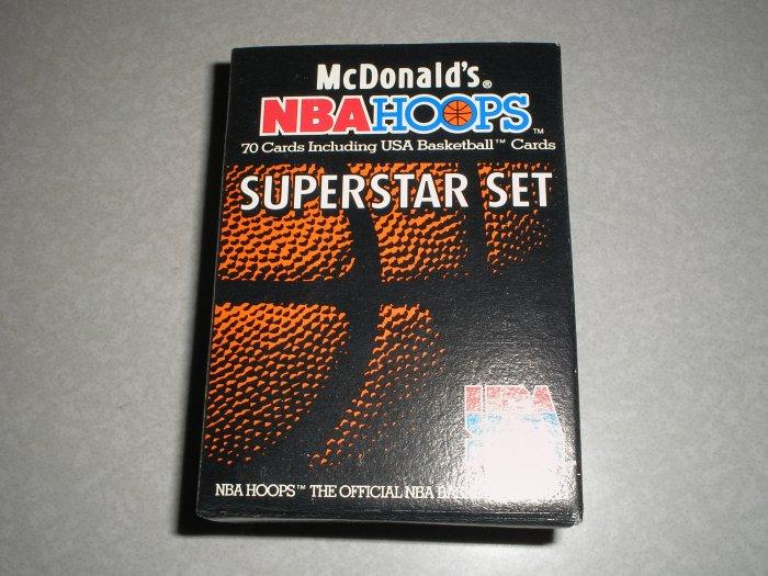 1992 McDonald's NBA Hoops Superstar Set