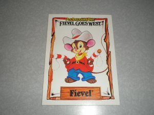 1991 Fievel Goes West Card Set