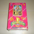 1994 Power Rangers Cards Factory Sealed Box