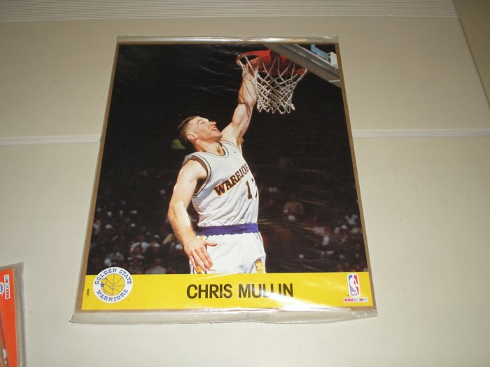 1990 Hoops Action Photos Chris Mullen 8 x 10