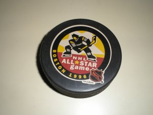 1996 NHL All-Star Puck from Boston