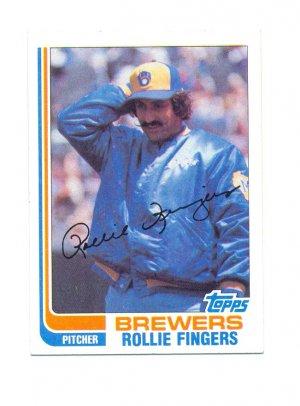 1982 Topps #585 Rollie Fingers HOF Pitcher