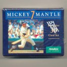 1992 Pinnacle Mickey Mantle 30 card set