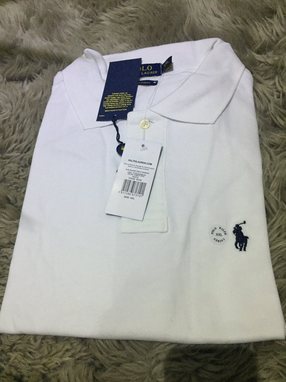 New Ralph Lauren Polo Men's Crew Neck Custom Fit T-Shirt Short Sleeve S M L XL