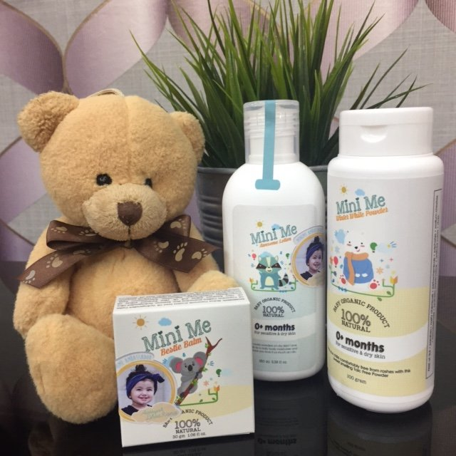 Baby Skincare Gift Set Free Paperbag