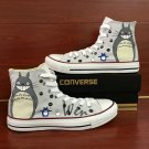 Hand Painted Shoes Converse All Star My Neighbor Totoro High Top Canvas Sneakers Christmas Gifts