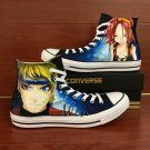 Custom Converse Shoes Naruto Shaman King Hand Painted Canvas Sneakers Unique Casual Shoes Gifts