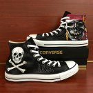 Unique Sneakers Converse All Star Pirate Skull Hand Painted Shoes Canvas Sneakers Best Gifts