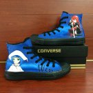 Custom Converse All Star Shoes Shakugan No Shana High Top Canvas Sneakers Personalized Gifts