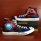 Hand Painted Converse Shoes Nebula Galaxy Universe Original Design Canvas Sneakers Christmas Gifts