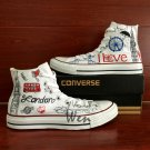 British London Landmarks Converse Chuck Taylor Custom Hand Painted Canvas Shoes Men Women Gifts