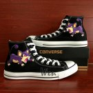 Pokemon Rattata Converse Chuck Taylor Hand Painted Shoes Black Canvas Sneakers Men Women Gifts