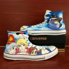 Custom Converse Howl's Moving Castle Totoro Hand Painted Shoes Unique Canvas Sneakers Gifts