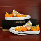 Naruto Low Top Converse Chuck Taylor Custom Hand Painted Shoes Men Women Fashion Sneakers