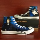 Black Butler Converse Chuck Taylor Custom Hand Painted Shoes High Top Canvas Sneakers Gifts