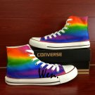 Men Women Birthday Gifts Colorful Converse All Star Hand Painted Shoes Unique Canvas Sneakers