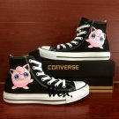 Cute Pokemon Jigglypuff Shoes Converse Chuck Taylor Boys Girls Hand Painted Canvas Sneakers Gifts