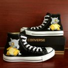 Pokemon Cubone High Top Converse All Star Shoes Custom Hand Painted Canvas Sneakers Unique Gifts
