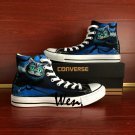 Unique Converse Sneakers Cheshire Cat Men Women Birthday Gifts Custom Hand Painted Canvas Shoes