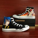 Men Women High Top Sneakers Converse Fairy Tail Hand Painted Canvas Shoes Birthday Gifts