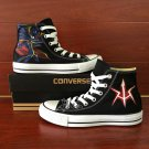 Custom Hand Painted Anime Code Geass Converse Shoes Men Women's Canvas Sneakers