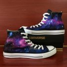 Original Design Converse Shoes Galaxy Space Stars Unisex Hand Painted Canvas Sneakers