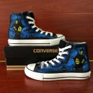 Custom Design Converse All Star for Man Woman Bat Halloween Hand Painted Canvas Shoes
