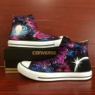 Men Women's Original Design Galaxy Nebular Converse Shoes Hand Painted Canvas Sneakers