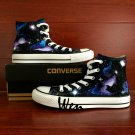 Galaxy Nebular Space Stars Original Design Hand Painted Shoes Unisex High Top Converse