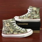 Design Custom Special Forces Camouflage High Top Converse Shoes Hand Painted Canvas Sneakers