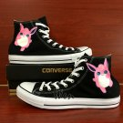 Unisex Hand Painted Canvas Sneakers Design Anime Pokemon Wigglytuff  Converse All Star Shoes