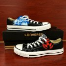 Custom Design Hand Painted Low Top Shoes Anime Naruto Converse Canvas Sneakers