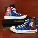 Anime The World God Only Knows Puella Magi Madoka Magica Hand Painted Converse