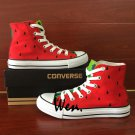 Watermelon Design Canvas Shoes Women Men Sneakers Converse All Star Christmas Gifts