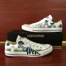 My Neighbor Totoro Hand Painted Anime Converse All Star Shoes Men Women Canvas Sneakers