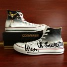 Hand Painted Anime Canvas Shoes Design Soul Eater Converse All Star Unisex Sneakers
