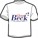 Glenn Beck for President 2008 T Shirt