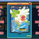 Shaymin EX 106/108 Full Art Ultra Rare Holo NEW Pokemon XY Roaring Skies Set TCGO TCG Online