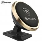 Mini magnetic stand strong suction car mount for mobile phones Brand Baseus golden