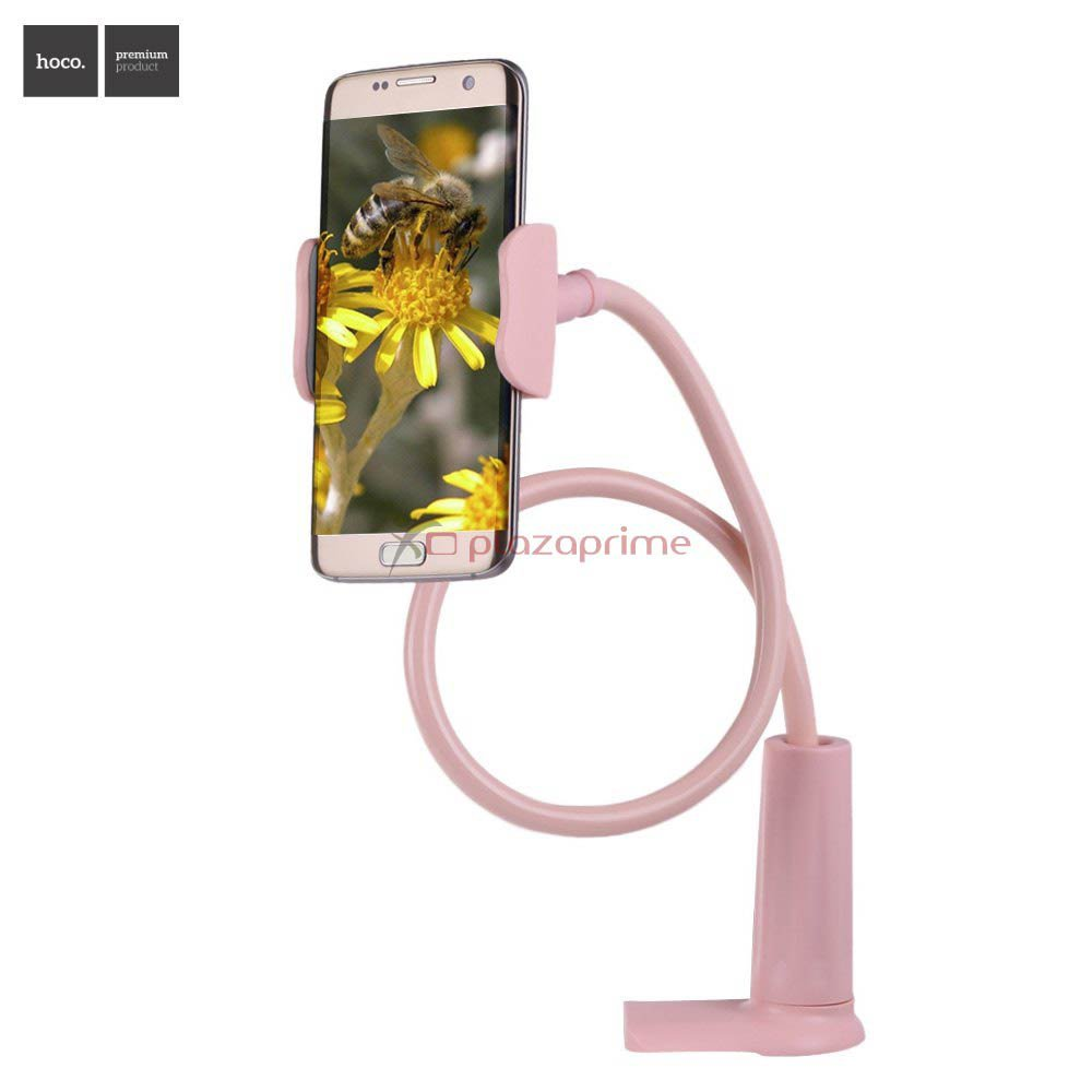 Stand holder for mobile phone and tablet PC Flexible 360 degree rotation CA10 HOCO Pink