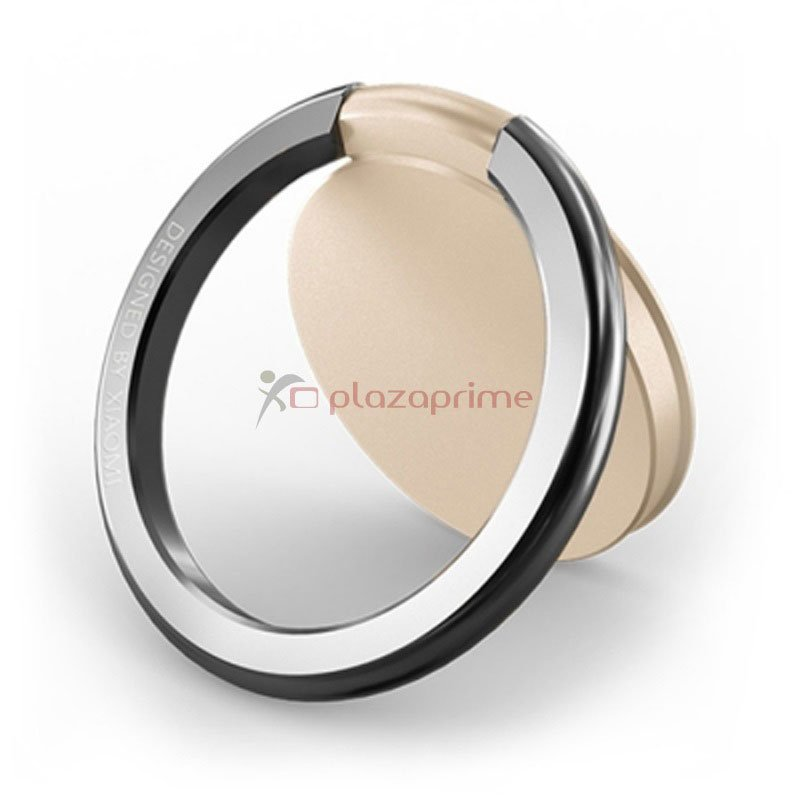 Ring mobile phone holder Brand Xiaomi original Color Champagne.