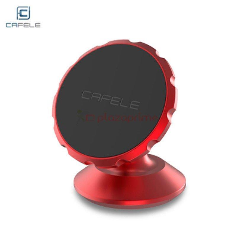 Universal car mount bracket for smartphone, tablet, GPS, etc. Brand CAFELE color Red