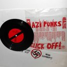 "DEAD KENNEDYS nazi punks f**k off 7"" Record with cloth arm band"