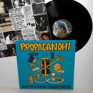 PROPAGANDHI how to clean everything LP Record with lyrics insert , weakerthans